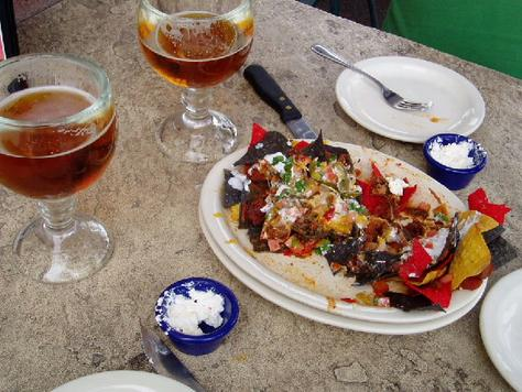 p143145-Phoenix-Half-eaten_nachos_platter_El_Paso_Bar_B_Que