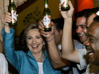 hillary cervesa