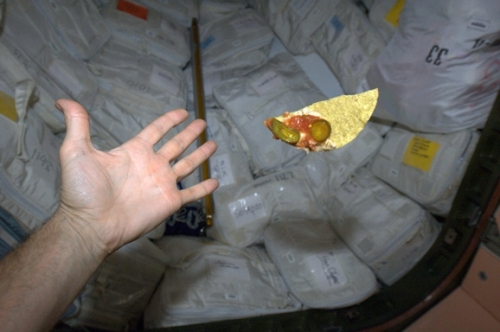 space nachos