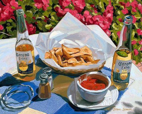 paint nachos